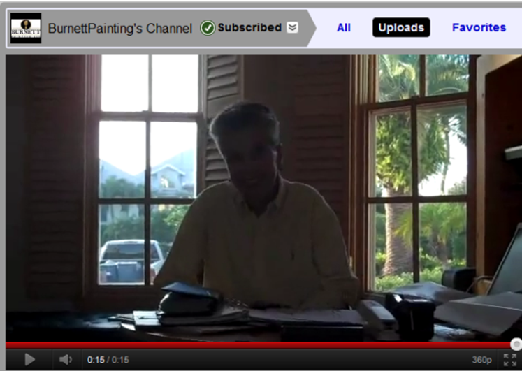 Patty Straus Burnett Painting Testimonial