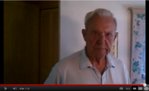 Floyd Holloway of Venice, Florida Giving Burnett Painting Video Testimonial