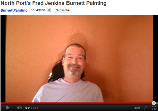 North Port, Florida Burnett Painting Video Testimonial