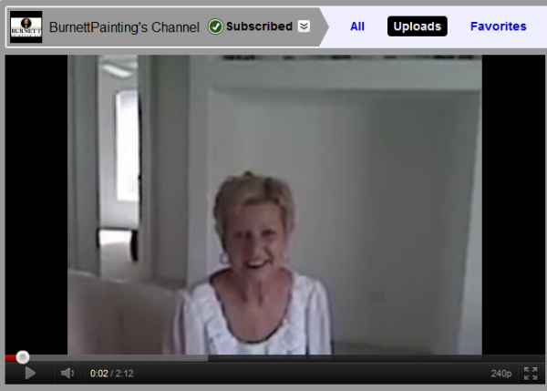 north port florida painting burnett painting video testimonial