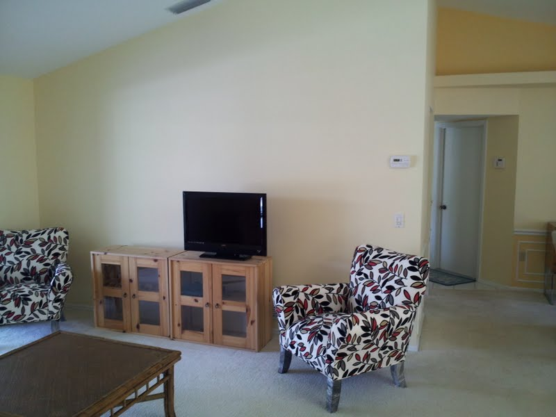 Venice, Florida Repaint Dining/Livingroom After Picture
