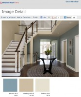 Burnett 1-800-PAINTING talks color flow with Benjamin Moore