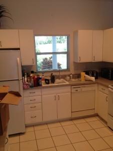 Venice, Florida kitchen interior repaint before photo