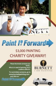 Burnett Painting Charity House Painting Give-a-way!