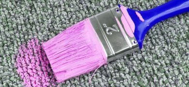 paint-on-carpet