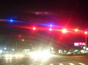 Burnett Painting Helps The Community Know about Blue Lights