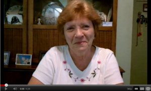 Carol Smith of Port Charlotte, Florida Give Burnett Painting Video Testimonial