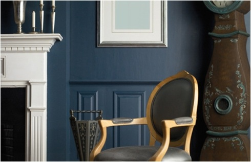 blue rooms create  peace