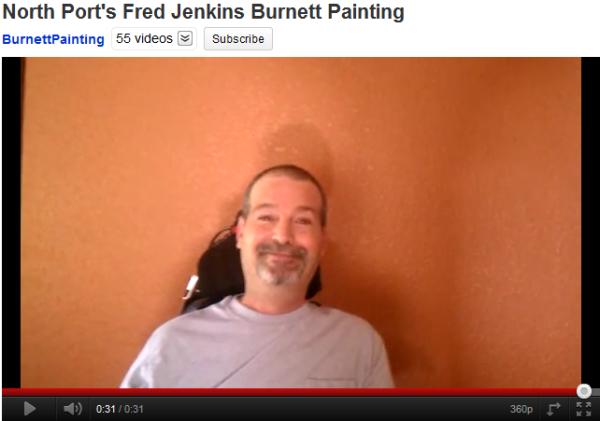 North Port, Florida Burnett Painting Video Testimonial