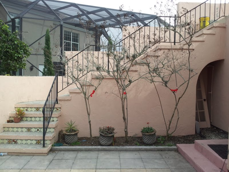extra tall walls are one reason to get a quote by a professional painter who comes to the home in Venice, Florida