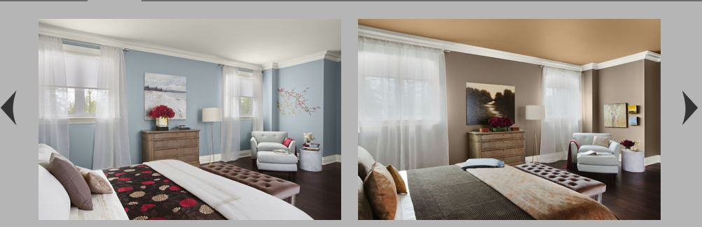 Eclectic Elegance View 2- Benjamin Moore Color Trends 2012