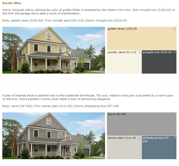 Benjamin Moore Curb Appeal - Bucolic Bliss