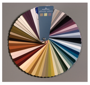 Affinity Fan Deck by Benjamin Moore