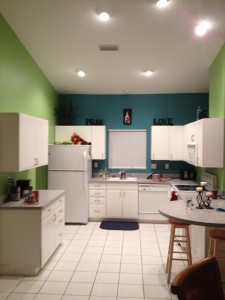 Venice, Florida interior repaint after photo