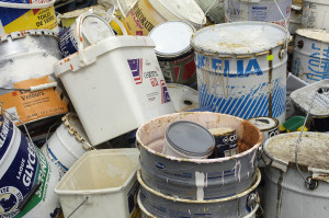 Proper disposal of paint and paint cans burnett 1 800 for How to dispose of empty paint cans