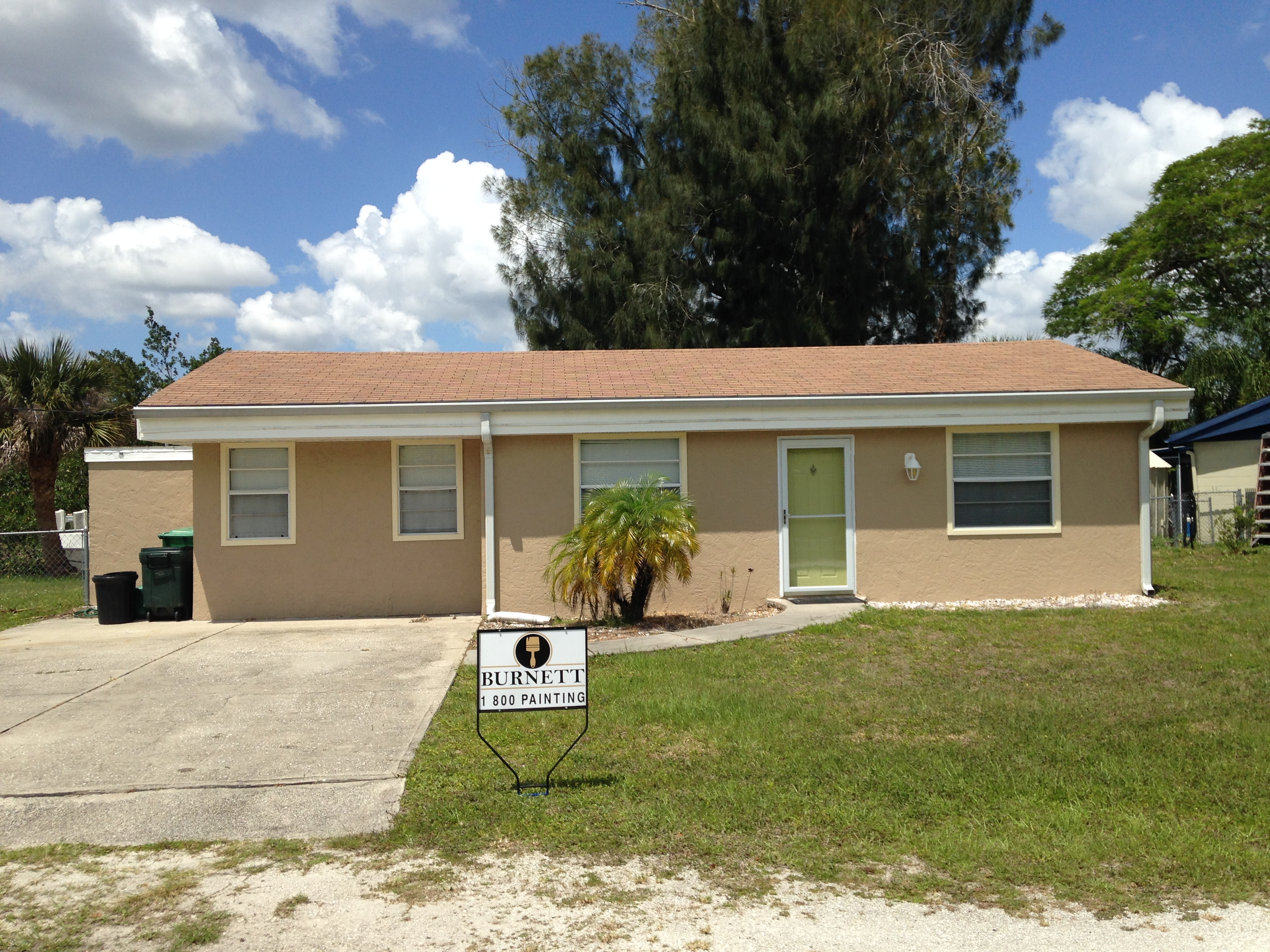 How Much Does Paint Cost >> Exterior Painting Cost Burnett Painting Venice Fl