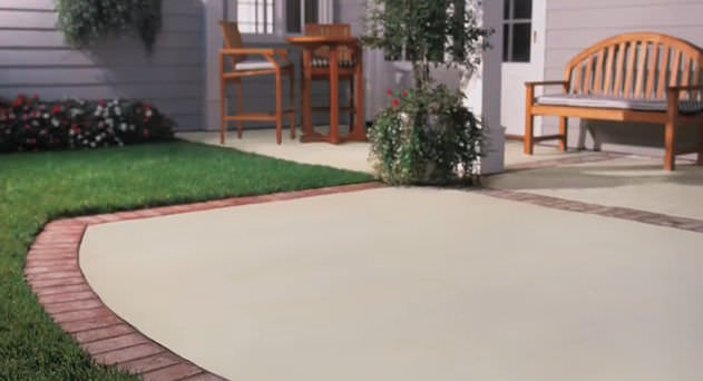 Paint Exterior Concrete Surface