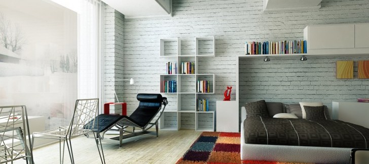 White Makes Your Room More Adventurous