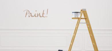 repainting walls