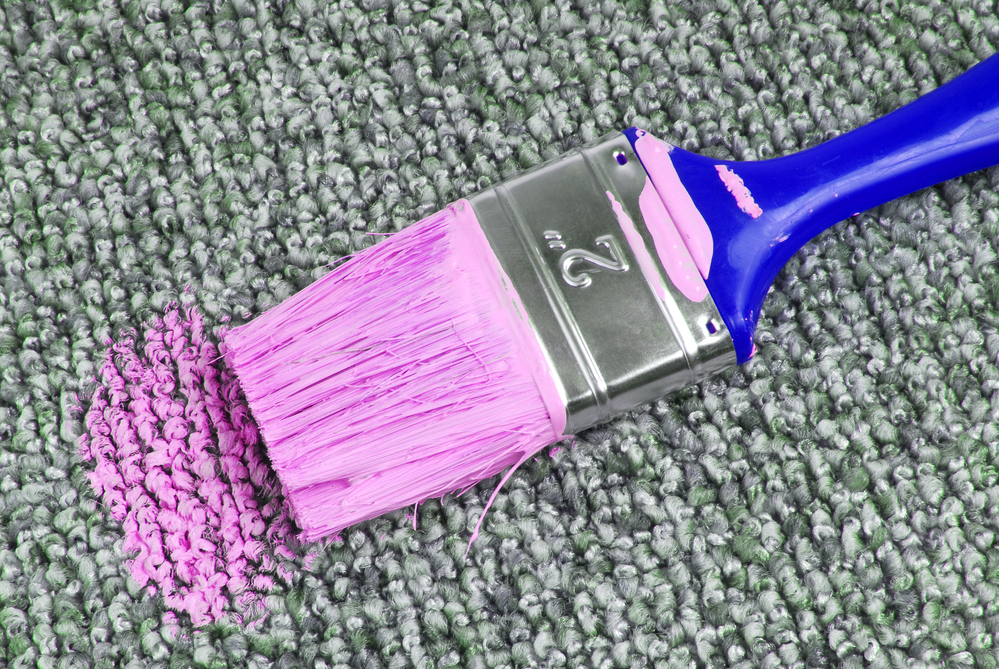 Paint On Carpet