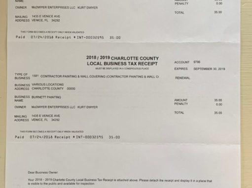 Charlotte County License